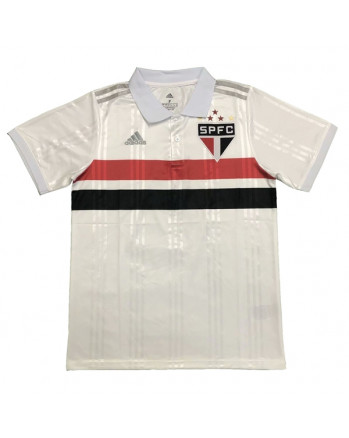 Sao Paulo White Polo Training Shirt 2020-21