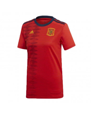 Spain Home Woman Soccer Jersey 2019-20