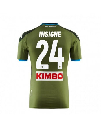 SSC Napoli Away INSIGNE Soccer Jersey 2019-20
