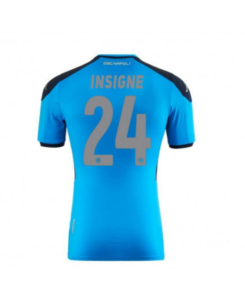 SSC Napoli Europa Home INSIGNE Soccer Jersey 2019-20