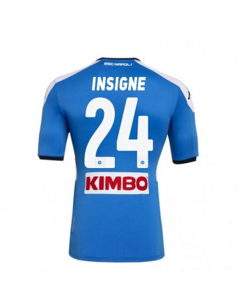 SSC Napoli Home INSIGNE Soccer Jersey 2019-20
