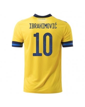Sweden Home IBRAHIMOVIC Soccer Jersey 2020
