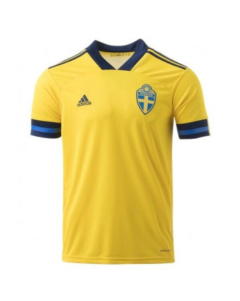 Sweden Home Soccer Jersey 2020