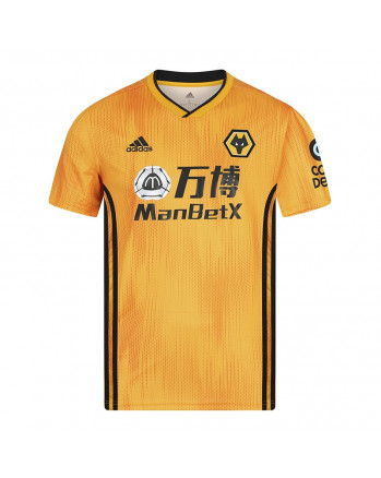 Wolverhampton Wanderers Home Soccer Jersey 2019-20