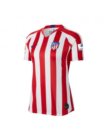 Womens Atletico Madrid Home Soccer Jersey 2019-20