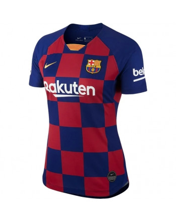 Womens Barcelona Home Soccer Jersey 2019-20