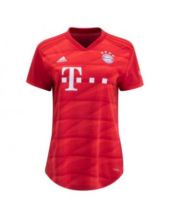 Womens Bayern Munich Home Soccer Jersey 2019-20