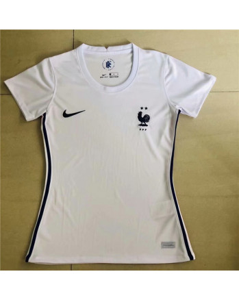 Womens France Away Soccer Jersey 2020-21