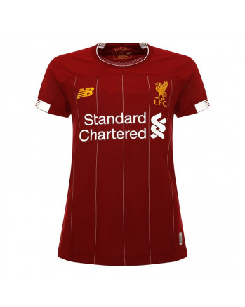 Womens Liverpool Home Soccer Jersey 2019-20