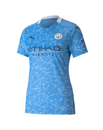 Womens Manchester City Home Soccer Jersey 2020-21