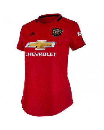 Womens Manchester United Home Soccer Jersey 2019-20