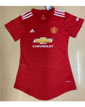 Womens Manchester United Home Soccer Jersey 2020-21