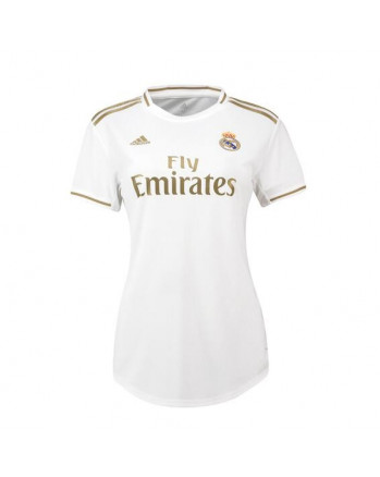 Womens Real Madrid Home Soccer Jersey 2019-20