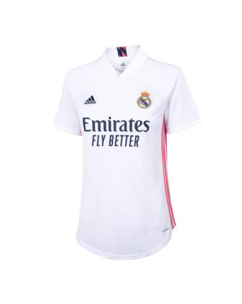 Womens Real Madrid Home Soccer Jersey 2020-21